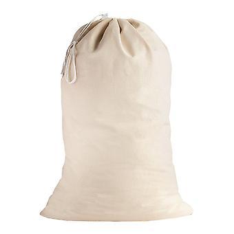 Bolsas de lavandería de algodón extra grandes para trabajos pesados - Natural