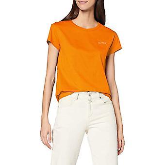 Marc O'Polo Denim 041218851125 T-Shirt, Orange (Dragon Fire 261), M Woman
