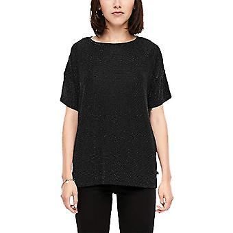 Q/S designed by 41.911.32.5608 T-Shirt, Black (Black 9999), 48 (Size Manufacturer: X-Large) Woman
