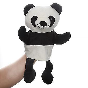 Panda handpoppen dierlijk speelgoed voor fantasierijk spel, kous, meisjes, jongens