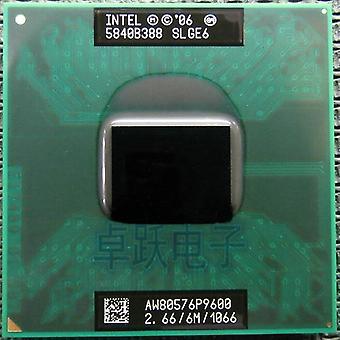 الأساسية 2 الثنائي P9600 Slge6 2.66g/6mb/1066mhz المحمول وحدة المعالجة المركزية P9600 كمبيوتر محمول