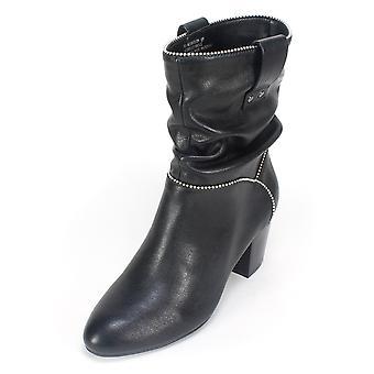 White Mountain Womens Smile Almond Toe Ankle Fashion Boots