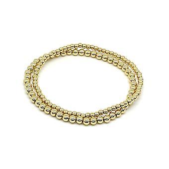 Boho betty samra gold stretchy bracelet duo