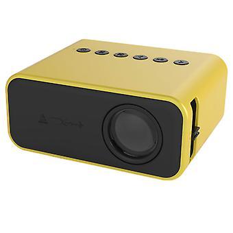 Pico Mini Projektor LED Pico projektor pro karikaturu kompatibilní s HDMI USB videohry