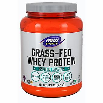 Nu Foods Whey Protein Concentrate Grass-Fed &Unflavored Powder, 1,2 lbs
