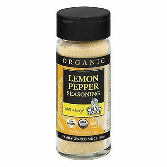 Celtic Sea Salt Organic Spice Blend, Lemon Pepper 1.8 Oz