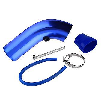 Universal Car Automobile Racing Air Intake Alumimum Pipe Power Flow Kit