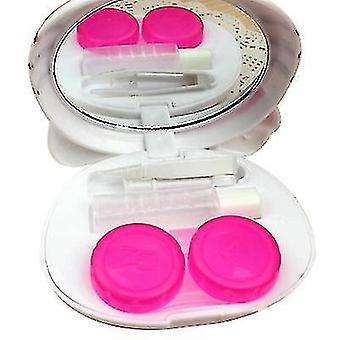 Copoz Cartoon three-dimensional contact lens case myopia cosmetic contact lens companion box glasses