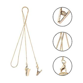Fashion Eyeglass Wiszący łańcuch zaciskanie liny z klipsem