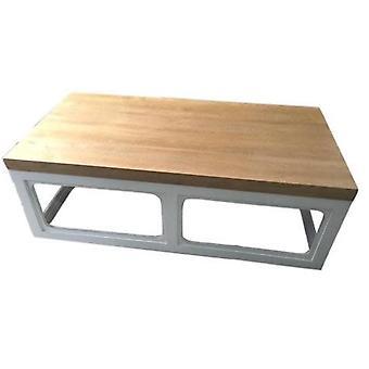 Grzywny Asianliving chiński stolik kawowy Lite drewno Biały W130xD65xH45cm