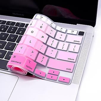 Näppäimistösuojat kannettavan tietokoneen näppäimistön kansi macbook silikoni väri pehmeä