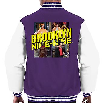 Brooklyn Ni-Ni Halloween II Menn Varsity Jakke
