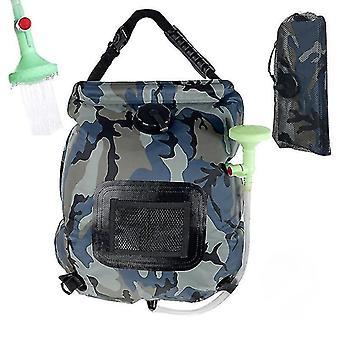 Water Bags 20L Outdoor Camping Shower Bag Solar Heating Portable Folding Hiking Climbing Bath