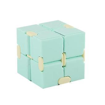Macaron Meilong Magic Cube Meilong 2x2x2 Cubing Classroom Meilong Speed Cube (Grøn)