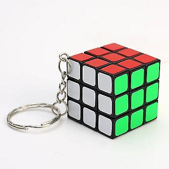 Mini Puzzle Cube Key Chain