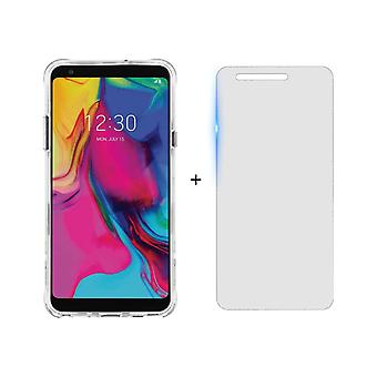 Case-Mate Tough Case + Glass Screen Protector for LG Stylo 5 - Clear