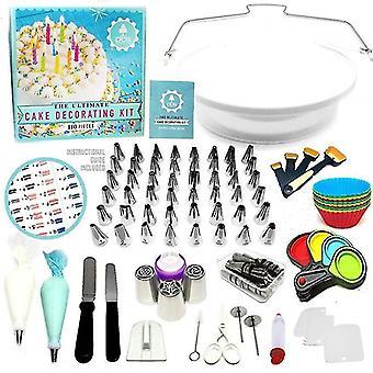 110 Stück Set von multifunktionalen Kuchen Dekoration und Backen Hilfswerkzeuge