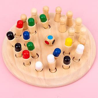 Fa memória játékok 26 db játék puzzle gyerekeknek