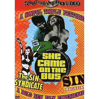 Sin Syndicate/Sin tidskrift / hon kom på bussen [DVD] USA import