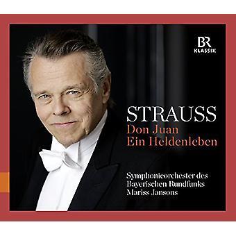 Strauss, R. / Jansons / Bavarian Radio Sym - Don Juan & Ein Heldenleben [CD] USA import