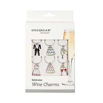 Epicurean wijnglas charmeert partij viering Set van 6