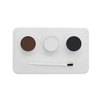 Makeup FX Aqua ansikts- og farge dyr Kit 3 farge pensel og trinnvise instruksjoner
