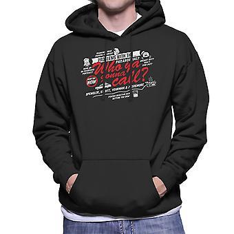 Better Call The Boys In Grey Ghostbusters Men's Hooded Sweatshirt