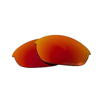Polarized Replacement Lenses for Oakley Jawbone Sunglasses Red Anti-Scratch Vented UV400 by SeekOptics