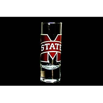 """Mississippi State Bulldogs NCAA """"Hype"""" Tall Shot Glass"""
