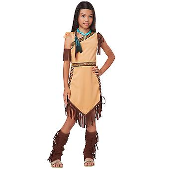 Native American princesse indienne Pocahontas ouvrage occidental semaine filles Costume