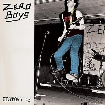 Zero Boys - History of Zero Boys [CD] USA import