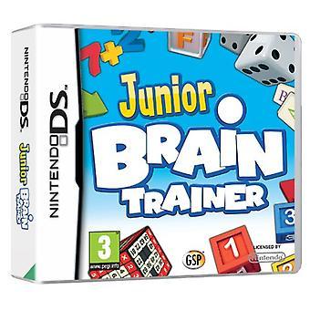 Junior Brain Trainer DS (Nintendo DS) - Novo
