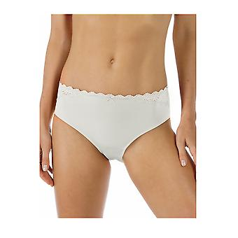 Mey 79801-1 Women's Allegra White Solid Colour Knickers Panty Full Brief