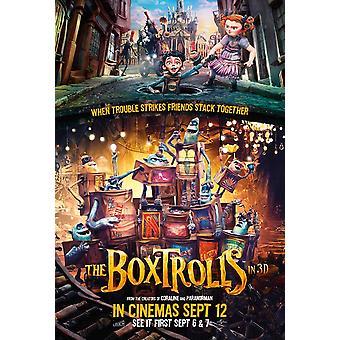 Boxtrolls elokuvan juliste (11 x 17)