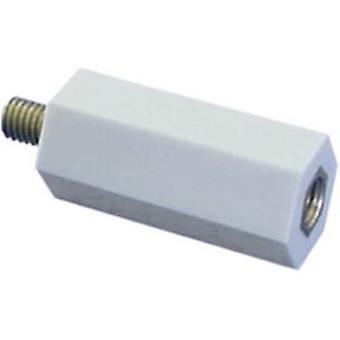 5S30 Espaceur isolé (L) 30 mm M5 x 7 mm Polyester, Zinc d'acier plaqué 1 pc(s)