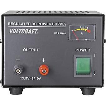 VOLTCRAFT FSP-1138 Bench PSU (fixed voltage) 13.8 V DC 8 A 110 W No. of outputs 1 x