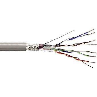 Digitus DK-1531-P-1 netværkskabel CAT 5e SF/UTP 4 x 2 x 0,13 mm ² grå 100 m