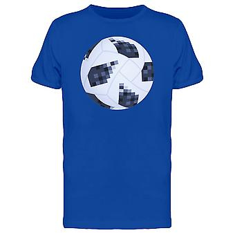 Pixelated Soccer Ball Tee Men's -Image by Shutterstock