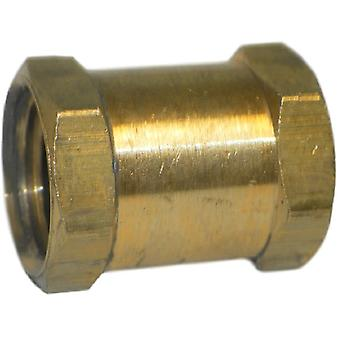 Big A Service Line 3-20340 Brass Fitting, Hose Coupling 1/4