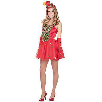 Pongpong kjole kostyme for kvinner