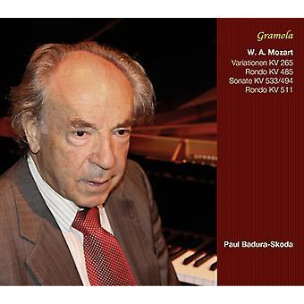Mozart / Badura-Skoda - Pno Works [CD] USA import