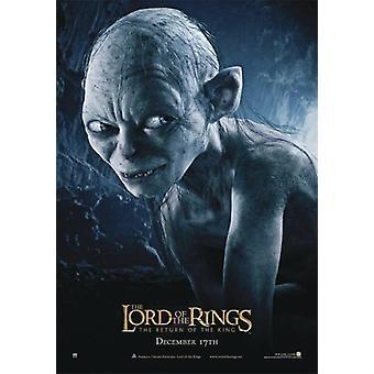 Poster LOTR il ritorno del re-Gollum