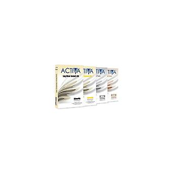 Activa compressão collants Collants meias Kit areia 40Mmhg Lge