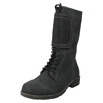 Dames Coco Mid kalf laarzen stijl - L8616