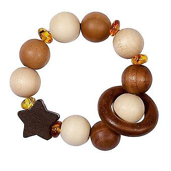Heimess Touch Ring Rattle Elastic Amber Star