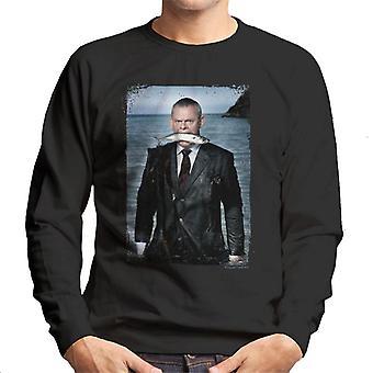 TV Times Martin Clunes Fish Doc Martin Men's Sweatshirt