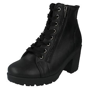Ladies flekk på ankelen støvler stil - F50313