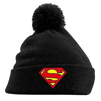 Superman Czapka klasyczna Tarcza Logo Nowy oficjalny DC Comics czarny bobble