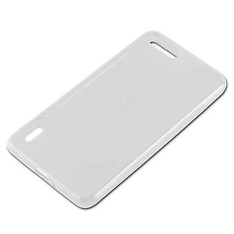 Cadorabo Hülle für Honor 6 PLUS hülle case cover - Handyhülle aus flexiblem TPU Silikon – Silikonhülle Schutzhülle Ultra Slim Soft Back Cover Case Bumper