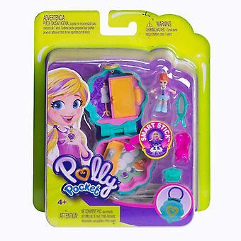 Polly Pocket FRY31 małe kieszonkowe miejsc Studio Compact Playset